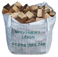 Grab Bag Hardwood Logs, Logs supplier Surrey Hampshire london - spooners logs